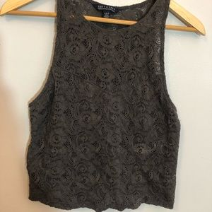 Lace American Eagle Outfitters crop top